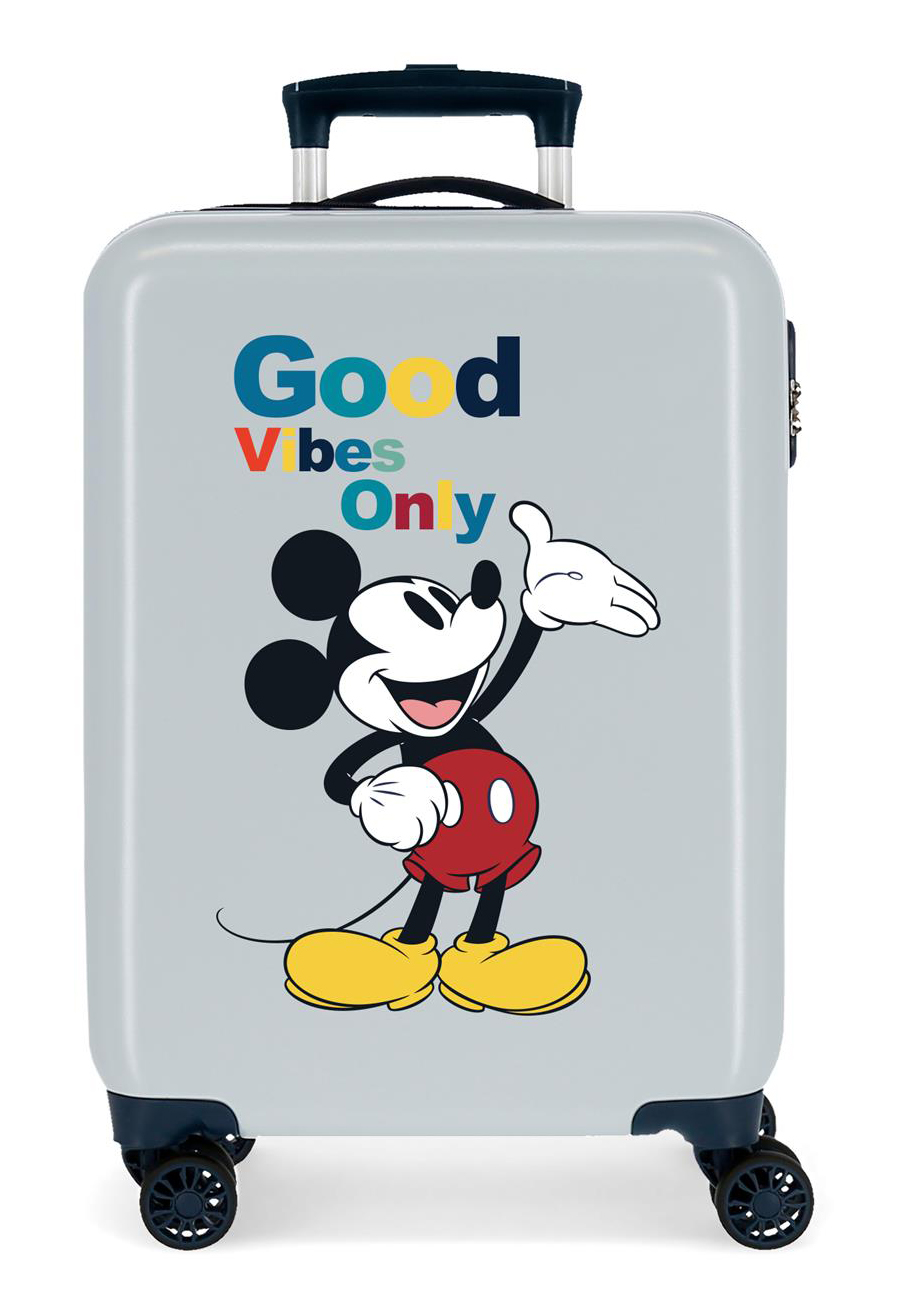 3421726 Maleta Cabina Mickey Original Good Vibes Only Azul