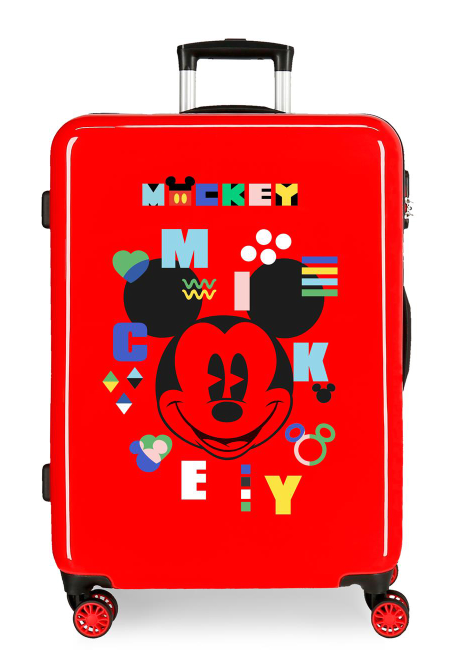 4381822 Maleta Mediana Mickey Shape Shifter