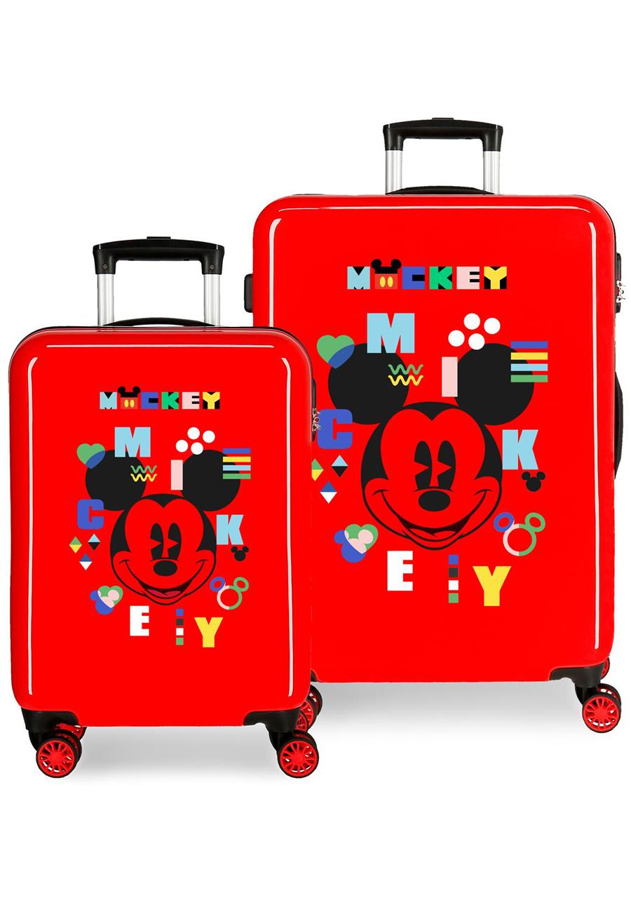 4381922 Juego Maletas Cabina y Mediana Mickey Shape Shifter