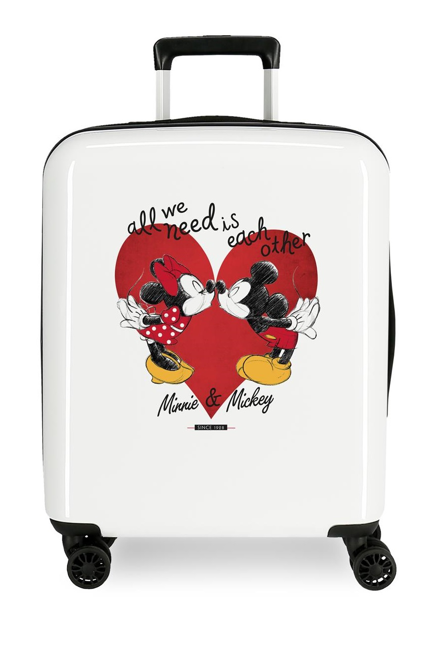 4391722 Maleta Cabina Mickey & Minnie Love