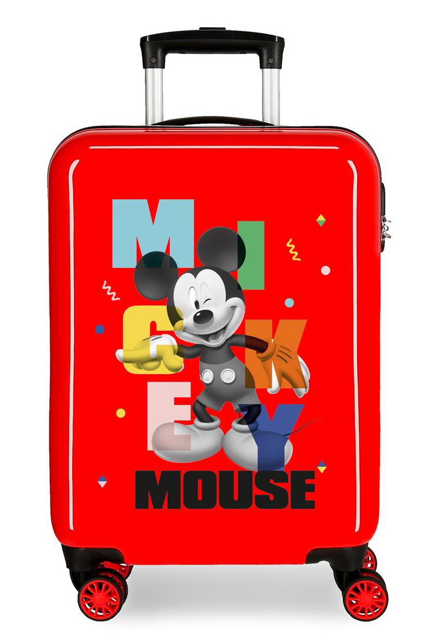 4471722 Maleta Cabina Mickey Party Rojo