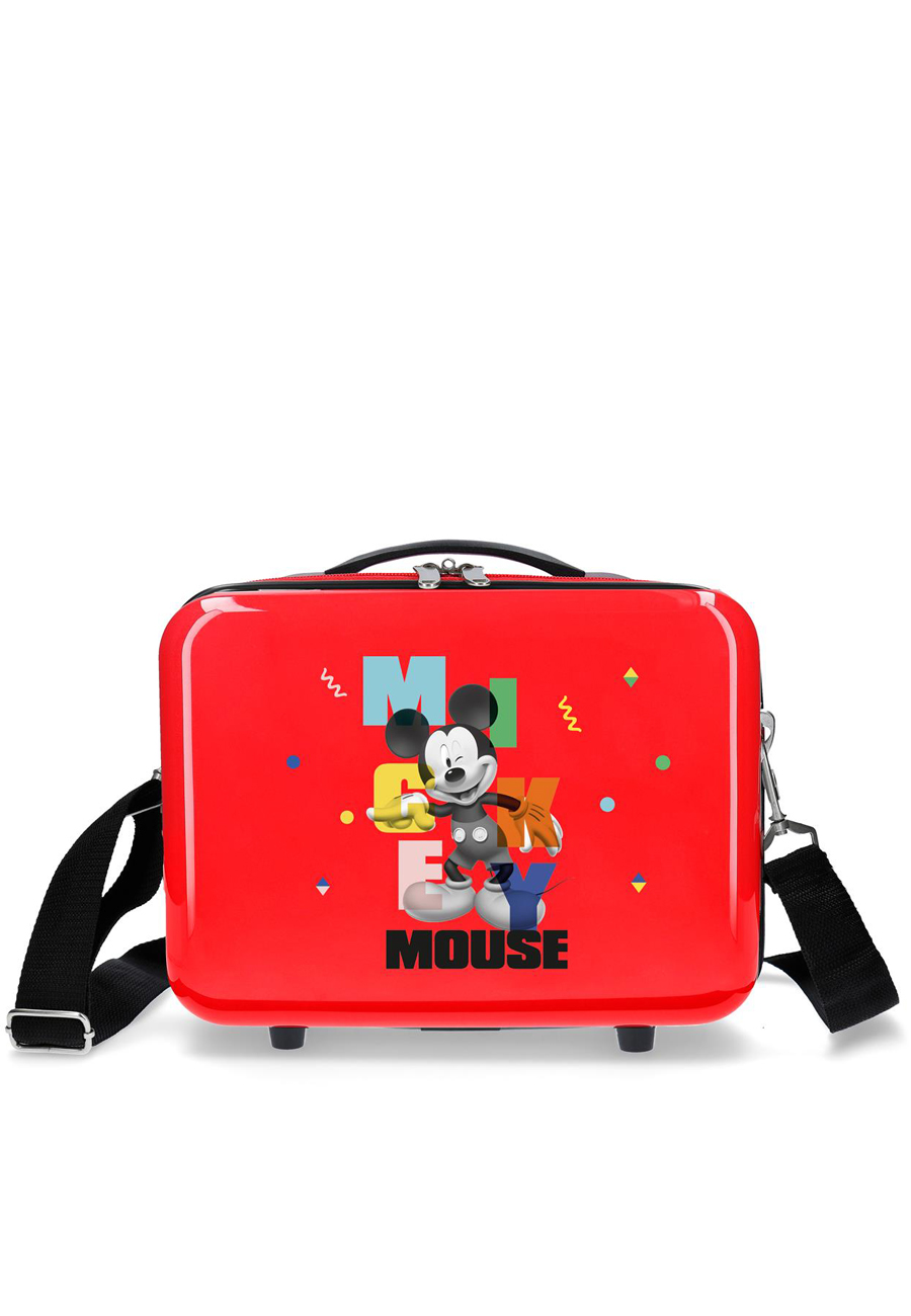 4473922 Neceser Mickey´S Party Rojo