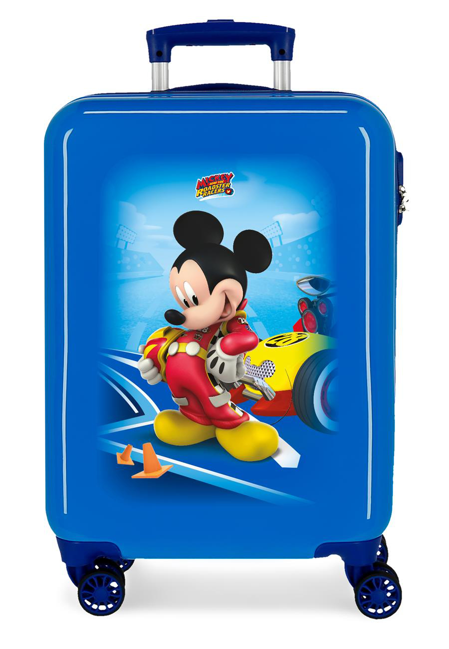 4561462 Maleta Cabina Let´s Roll Mickey