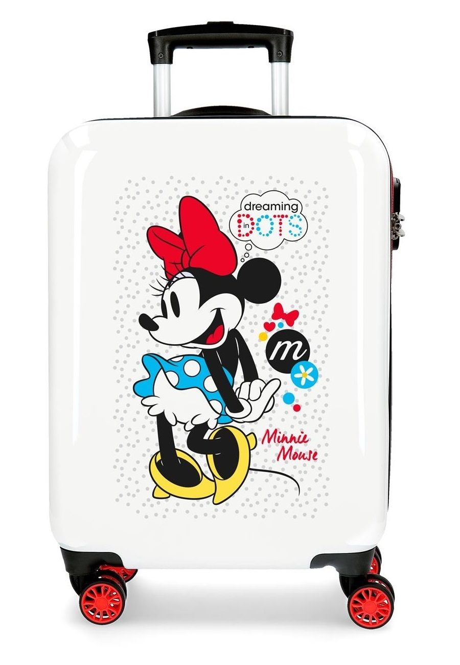 4681765 Maleta Cabina Minnie Enjoy The Day Dots en ABS