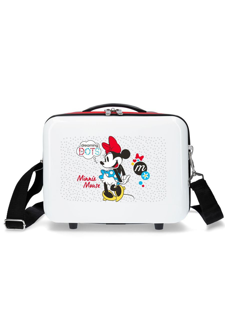 46839A5 Neceser Minnie Enjoy The Day Dots Rojo