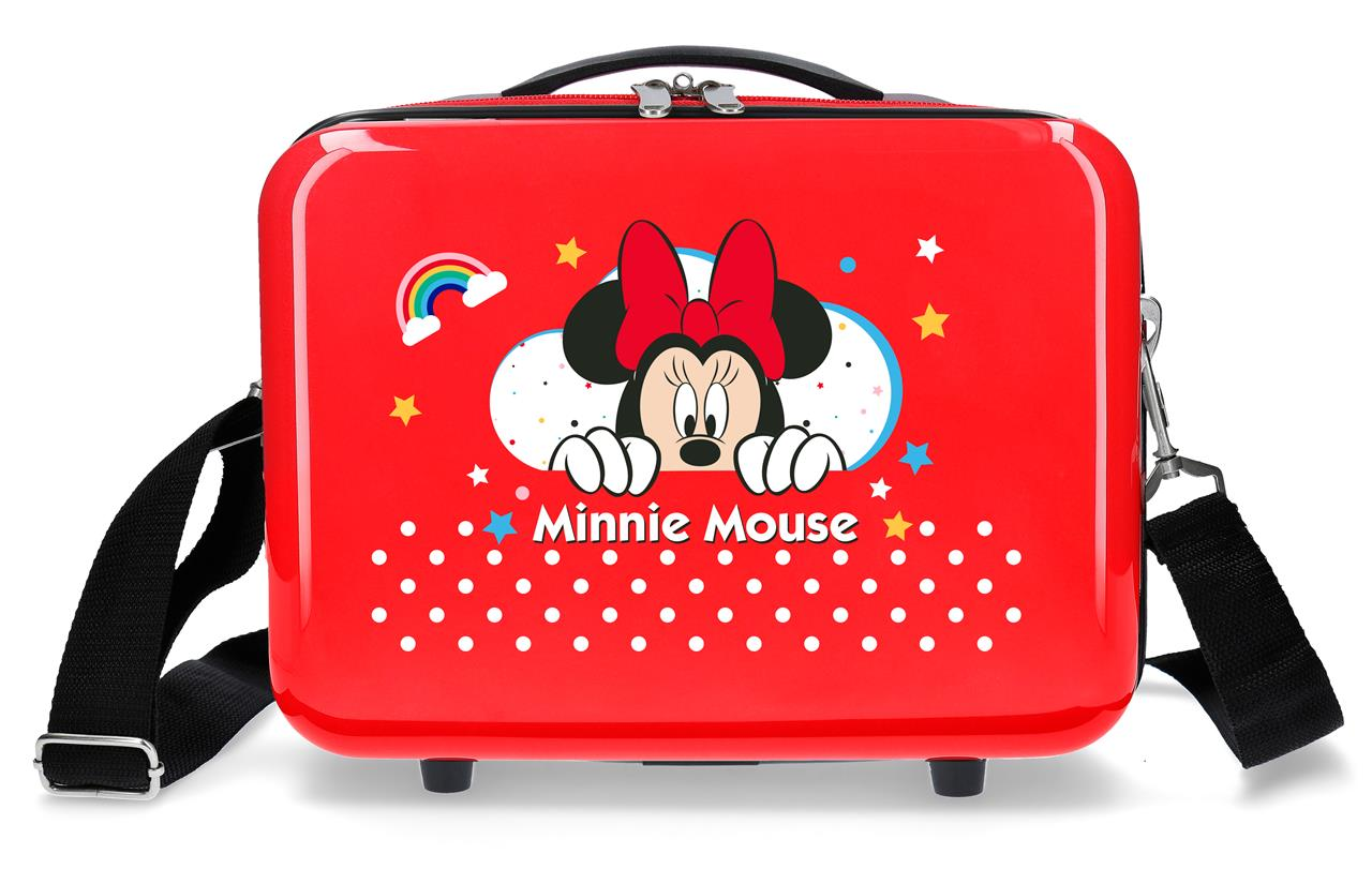 4773961 Neceser Minnie Rainbow Rojo