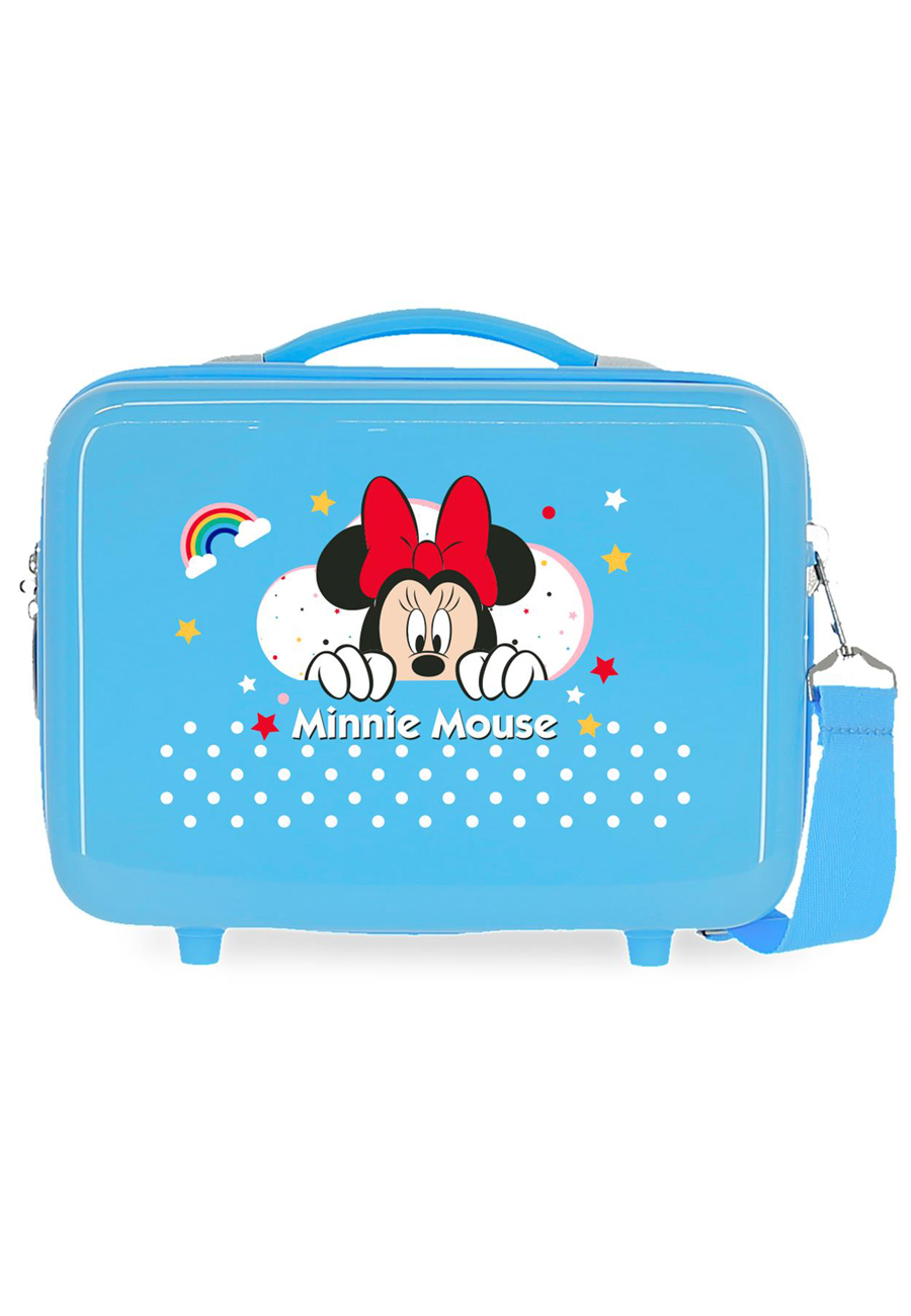 4773963 Neceser Minnie Rainbow Azul
