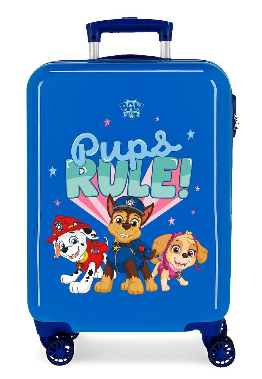 2191726 Maleta Cabina Paw Patrol Pups Rule Azul