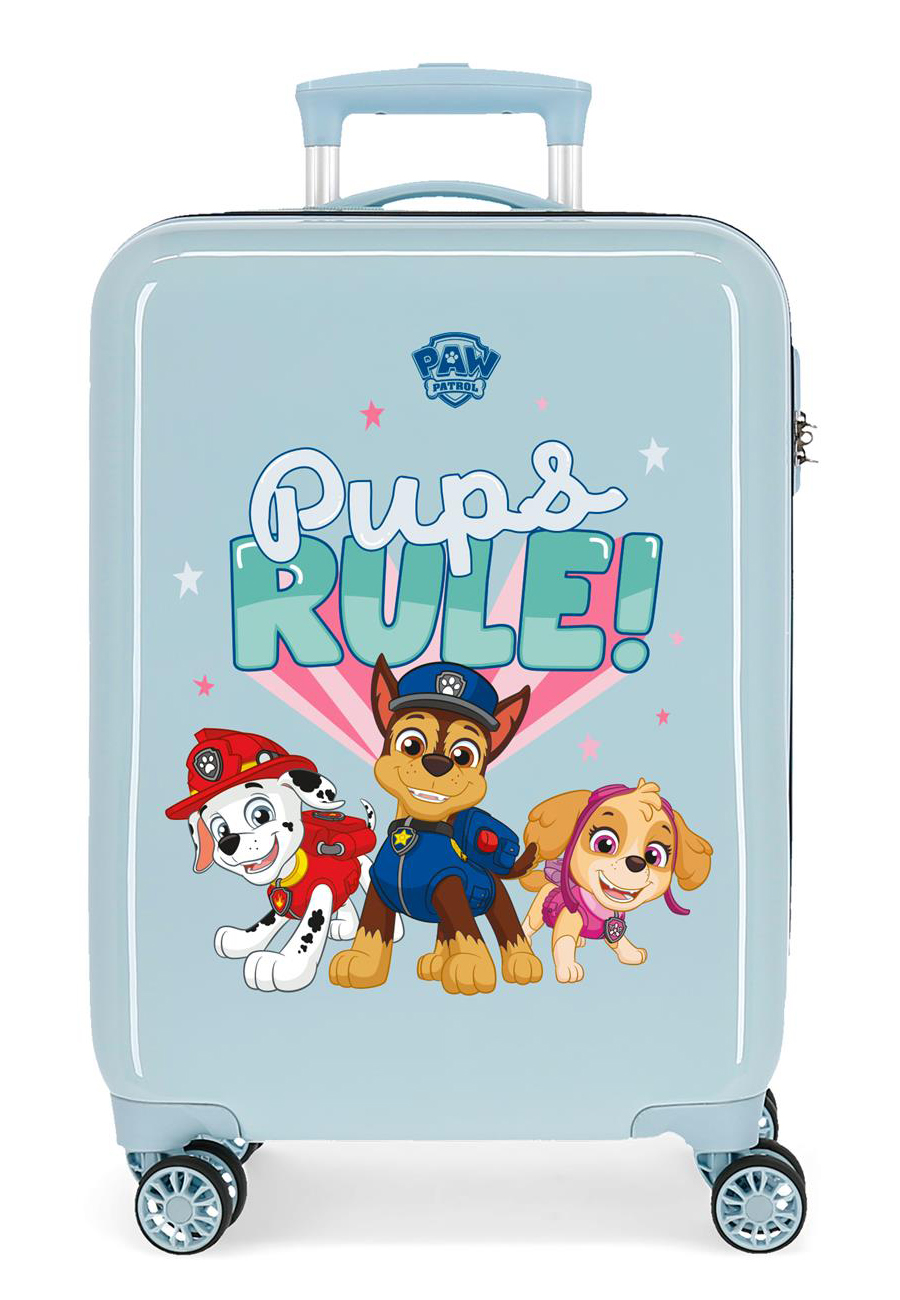 2191727 Maleta Cabina Paw Patrol Pups Rule Azul Claro