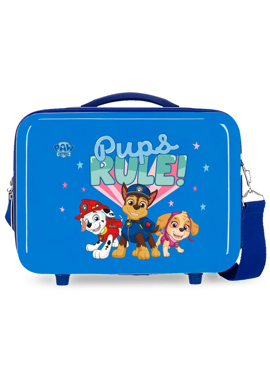 2193926 Neceser Paw Patrol Pups Rule Azul