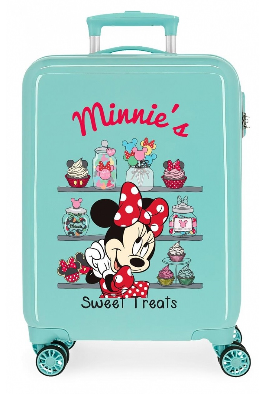 2341724 Maleta Cabina Thats Easy Minnie´s Sweet Treats Turquesa