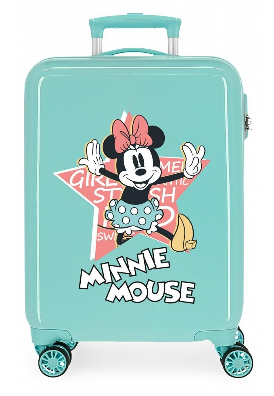 2341725 Maleta Cabina Thats Easy Minnie Mouse Turquesa