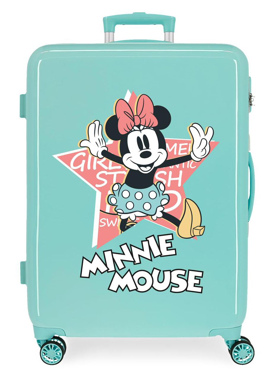2341825 Maleta Mediana Thats Easy Minnie Mouse Turquesa
