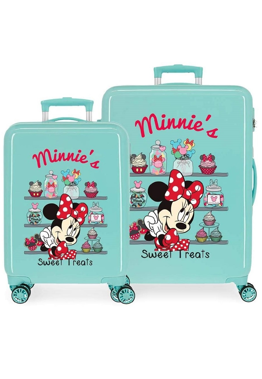 2341924 Juego Maletas Cabina y Mediana Thats Easy Minnie´s Sweet Treats Turquesa