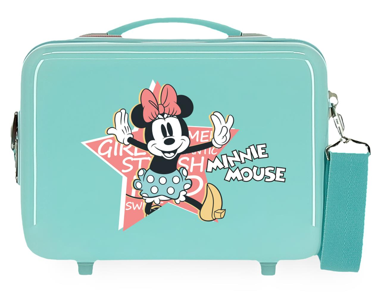 2343925 Neceser Thats Easy Minnie Mouse Turquesa