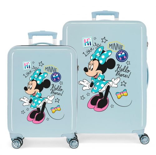 2561664 set Maleta cabina y mediana Enjoy Minnie hi Love
