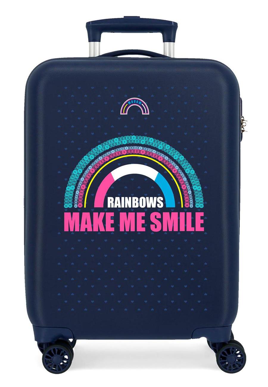 3041721 Maleta de Cabina Movom Glitter Rainbows
