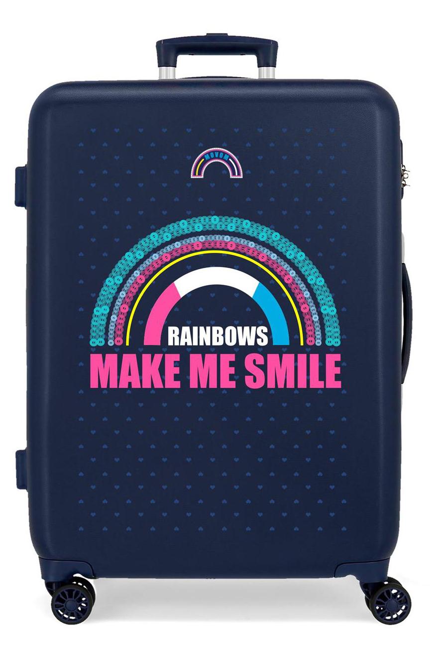 3041821 Maleta Mediana Movom Glitter Rainbows