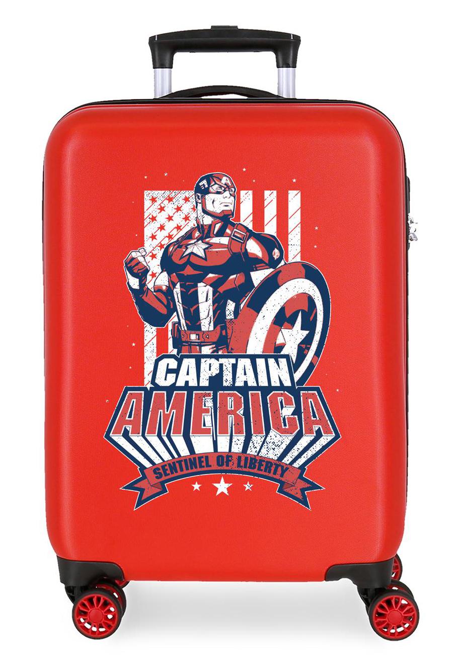 3431724 Maleta Cabina Mightiest Heroes Captain America Rojo