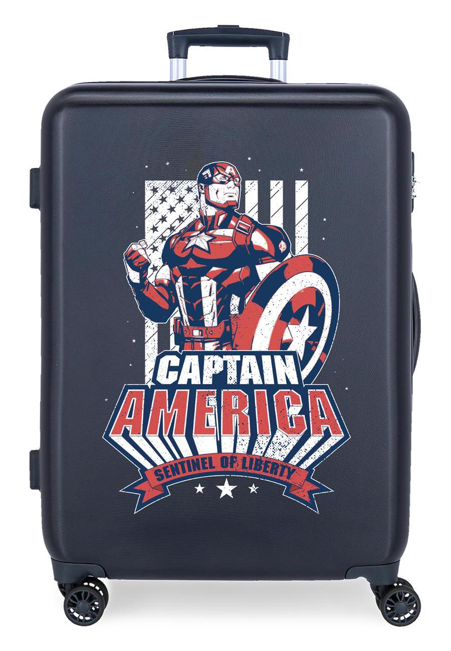 3431823 Maleta Mediana Mightiest Heroes Captain America Marino