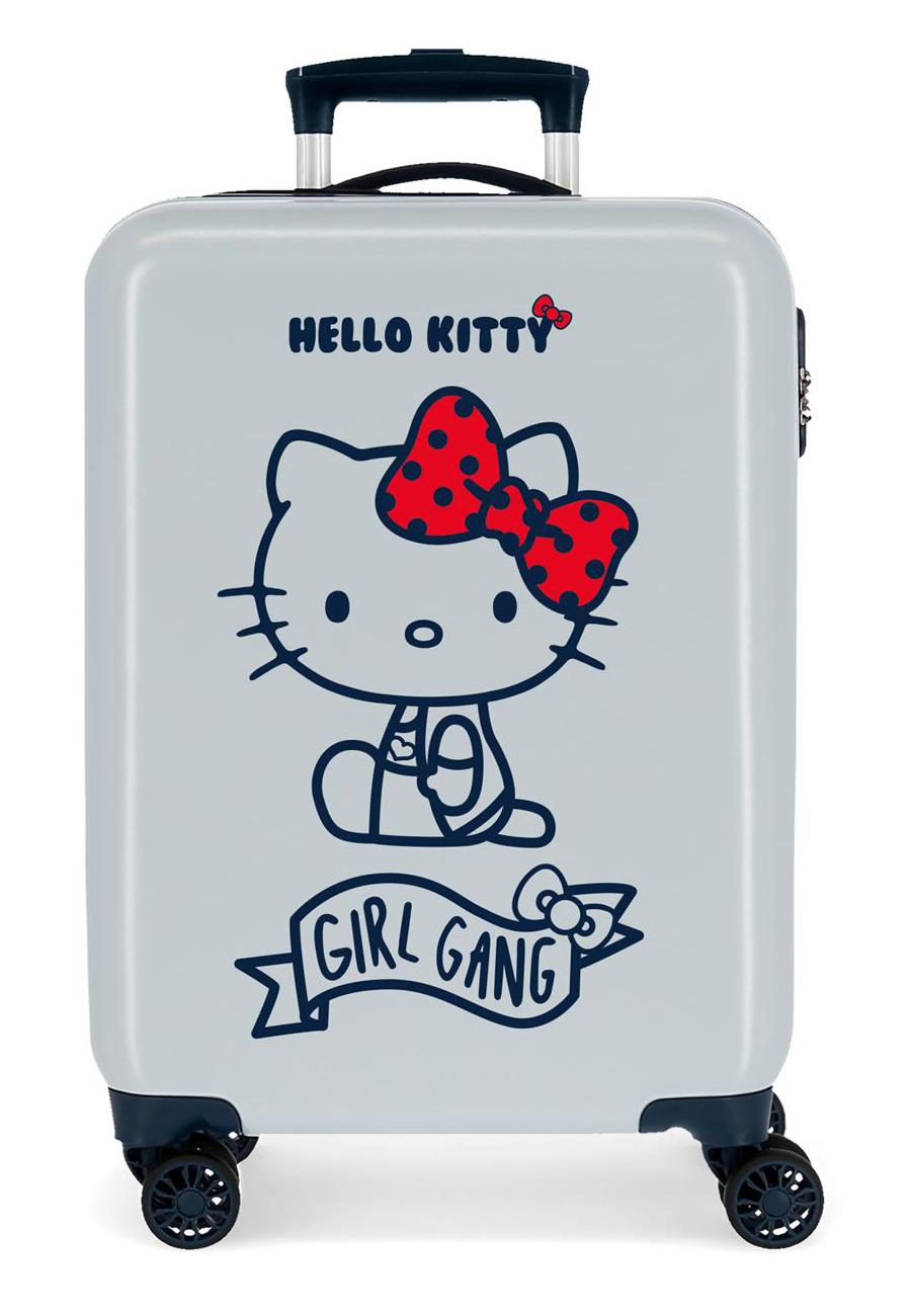 4231723 Maleta de Cabina Girl Gang Hello Kitty Azul Claro