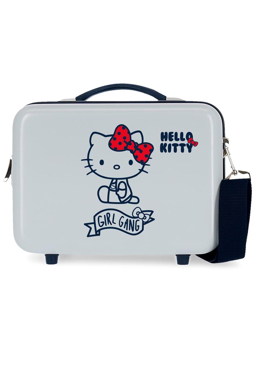 4233923 Neceser Girl Gang Hello Kitty Azul Claro