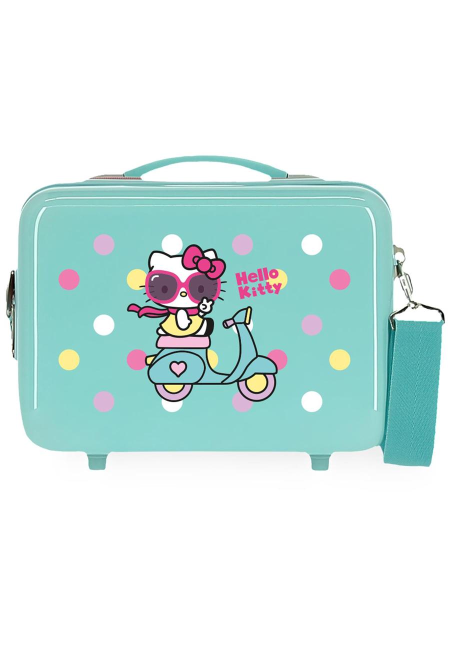 4233924 Neceser Girl Gang Hello Kitty Azul Claro