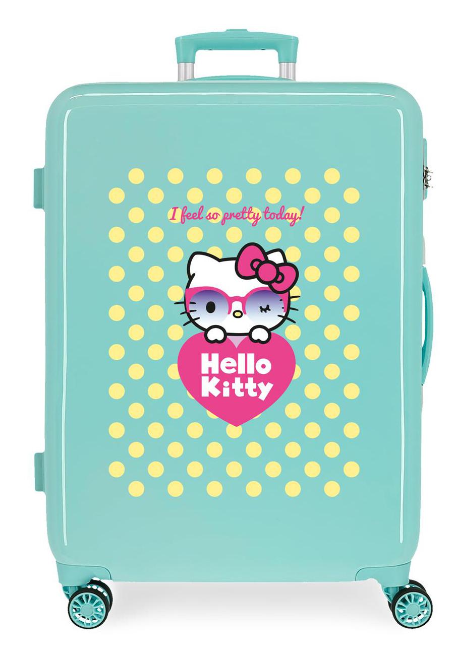4261821 Maleta Mediana Hello Kitty Pretty Glasses