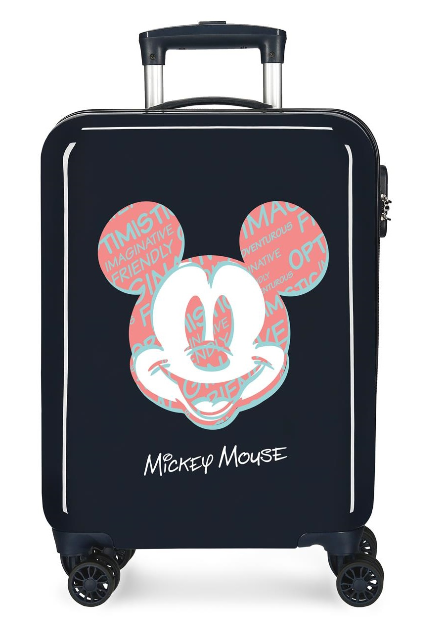 4491723 Maleta Cabina Mickey Always Be Kind Marino