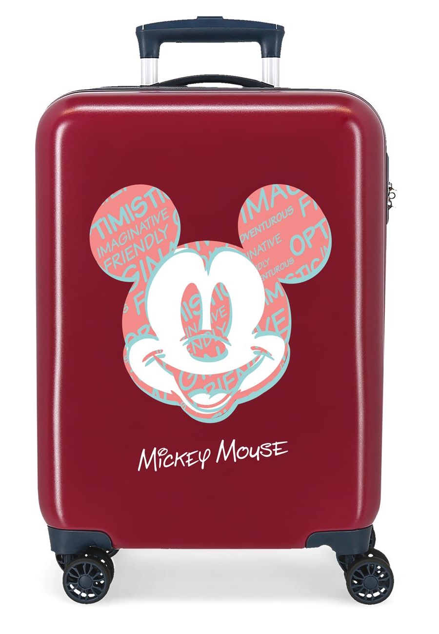 4491724 Maleta Cabina Mickey Always Be Kind Granate