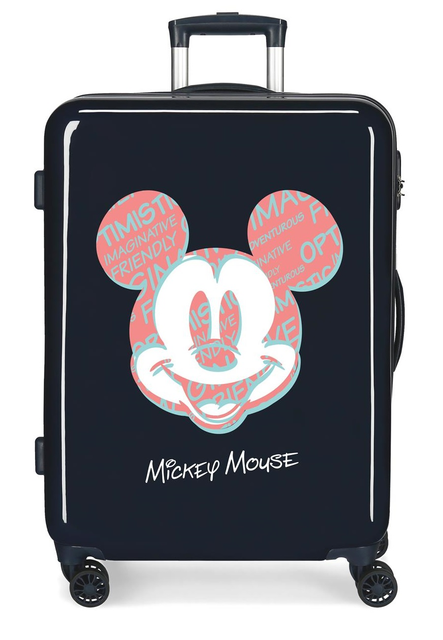 4491823 Maleta Mediana Mickey Always Be Kind Marino