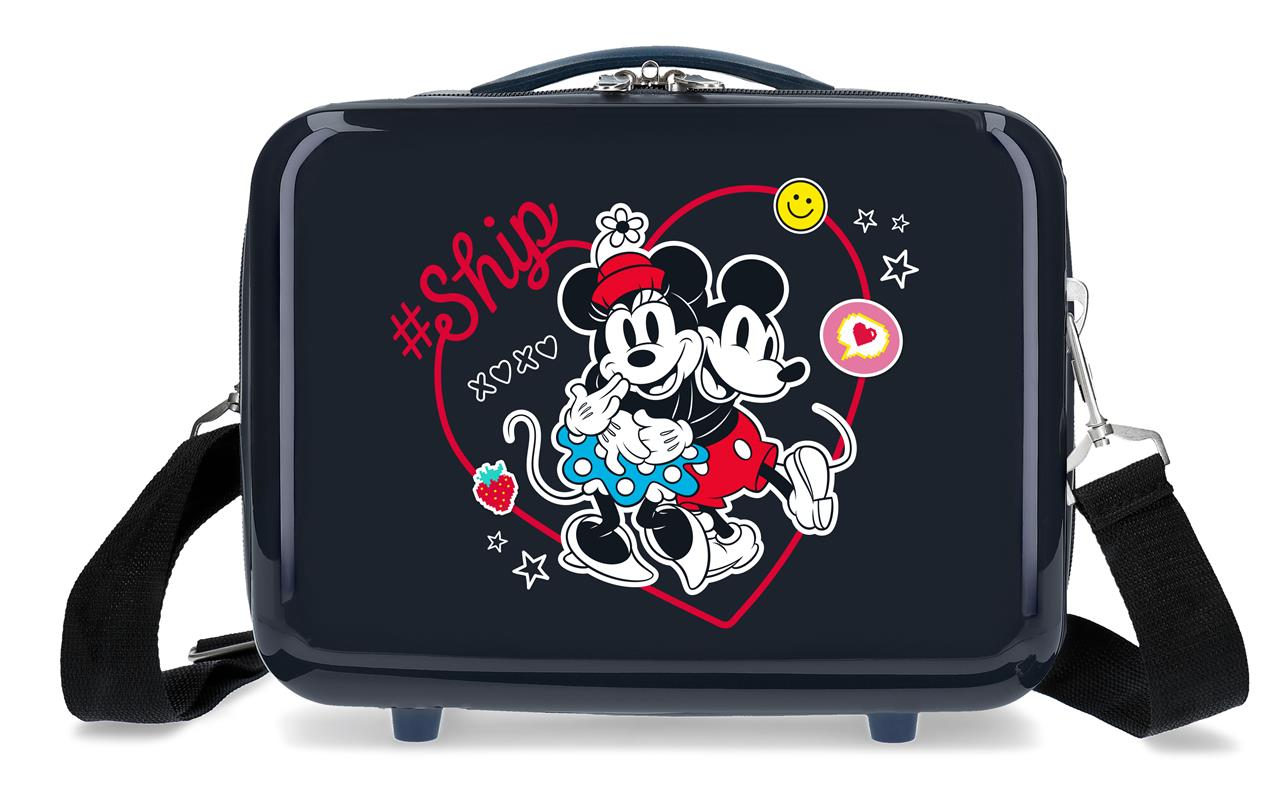 4493921 Neceser Mickey & Minnie ship Always Be Kind Marino
