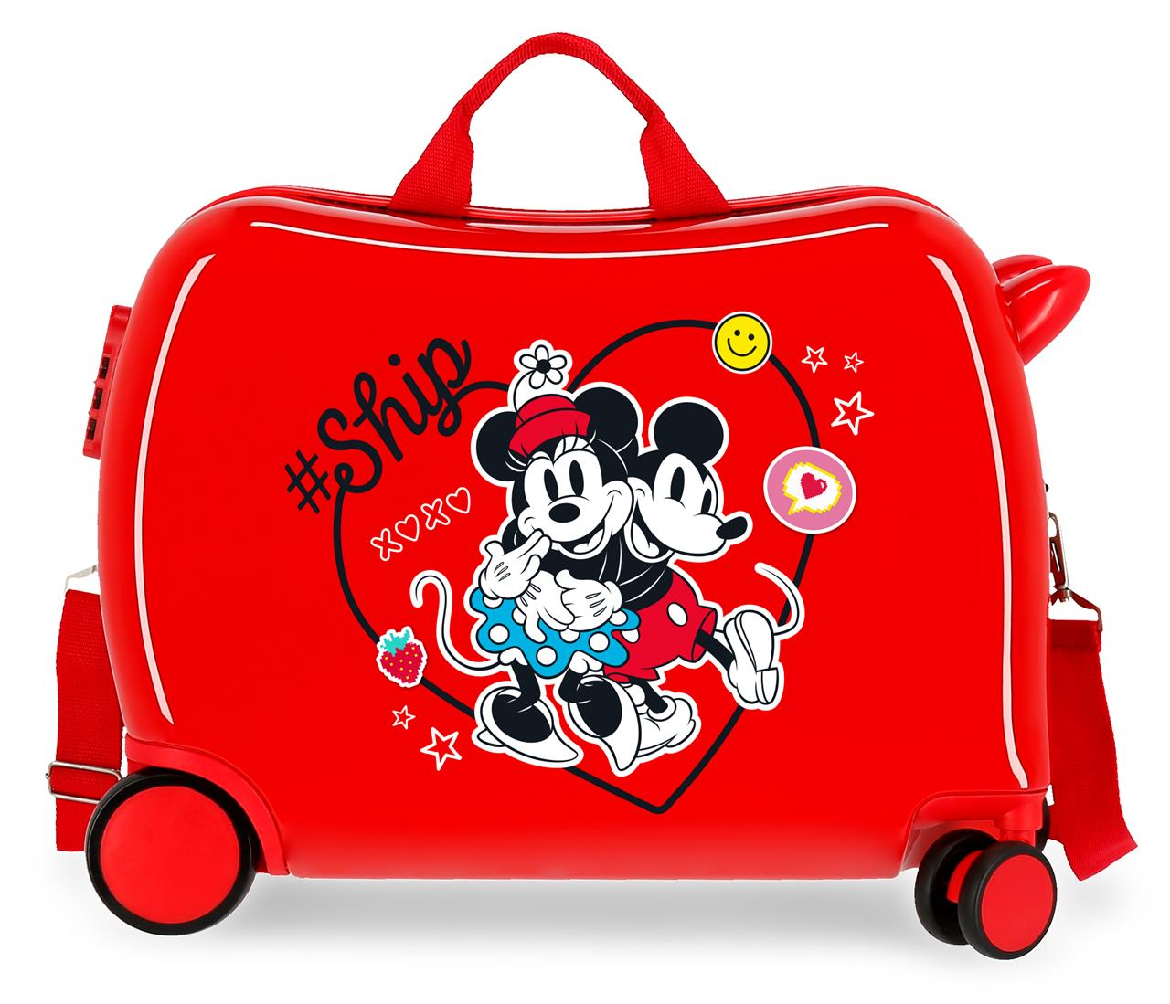 4499822 Correpasillos Mickey & Minnie ship Always Be Kind Rojo