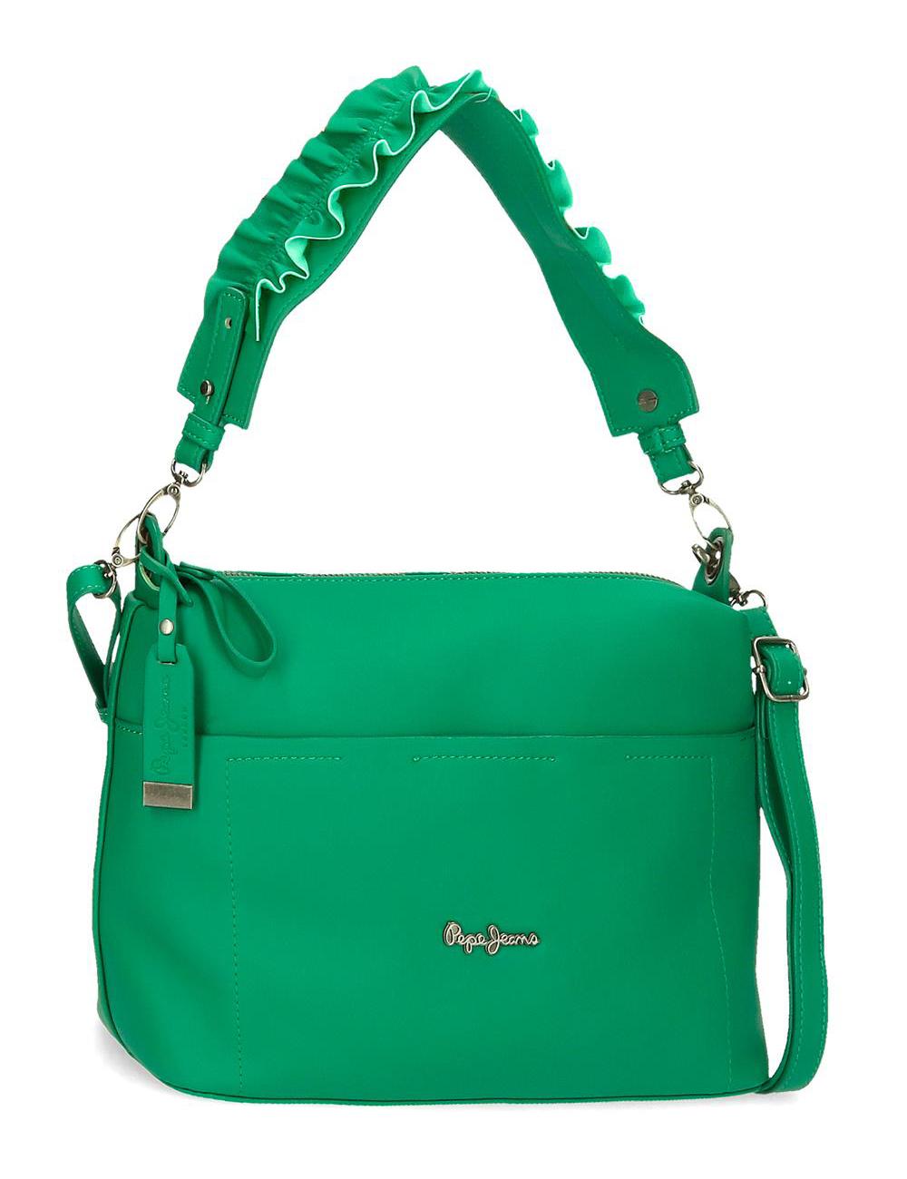 7537123 Bolso de Hombro Pepe Jeans Verde