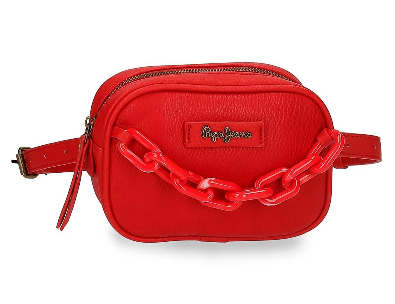 75749223 Riñonera Pepe Jeans Chain Rojo