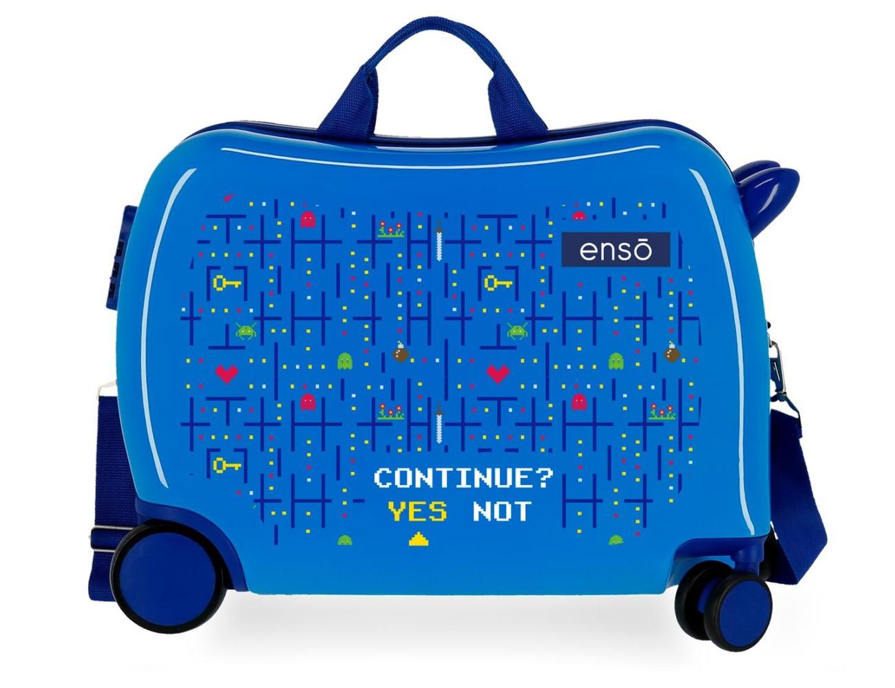 Maleta Infantil Enso Gamer Azul 9329821