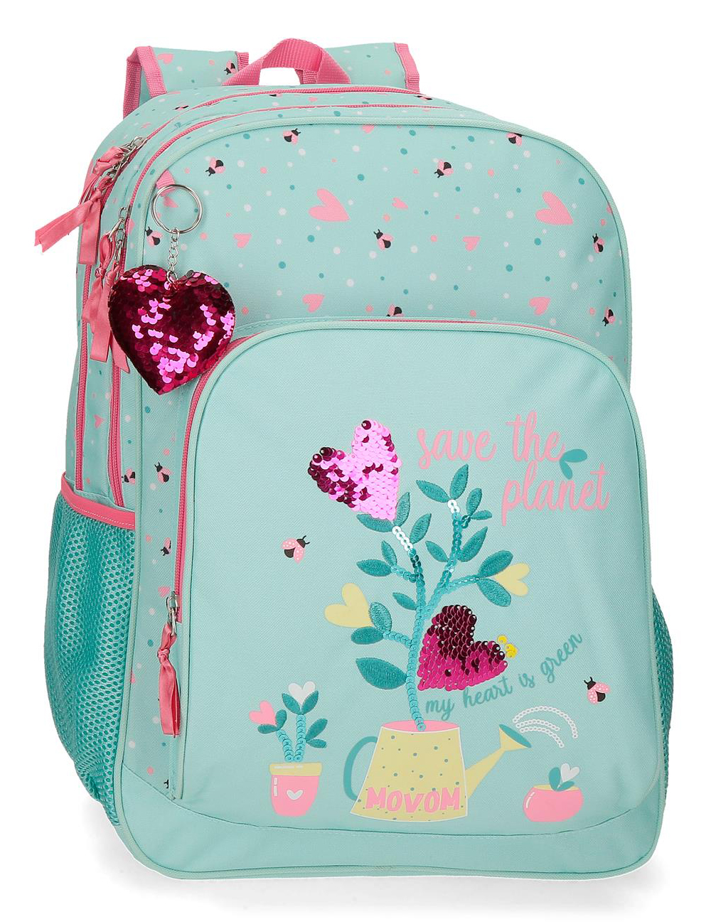 2022421 Mochila 45 cm Doble Compartimento Movom Flower Pot