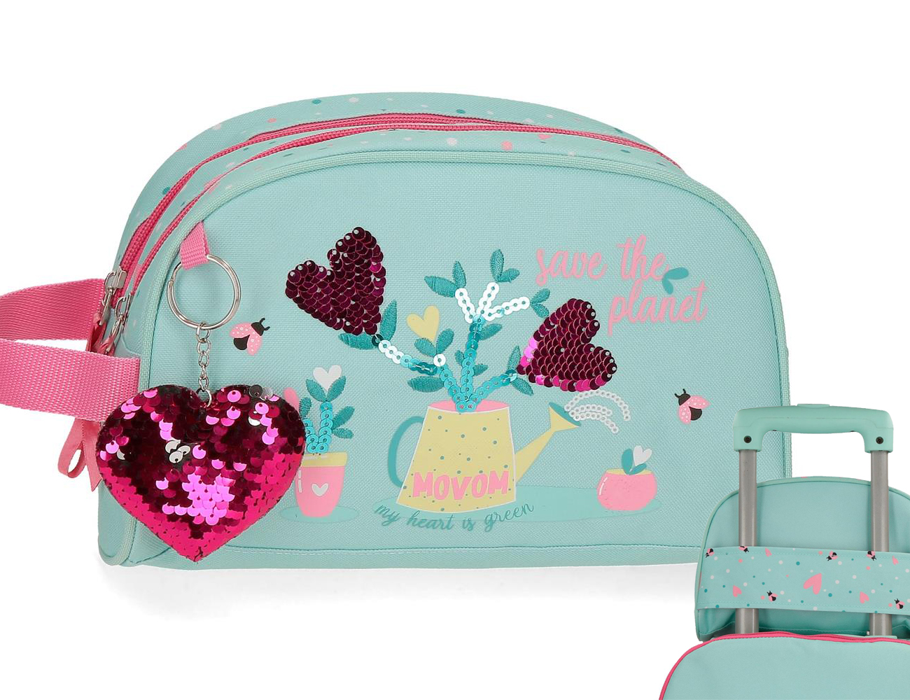 2024421 Neceser Doble C. Movom Flower Pot