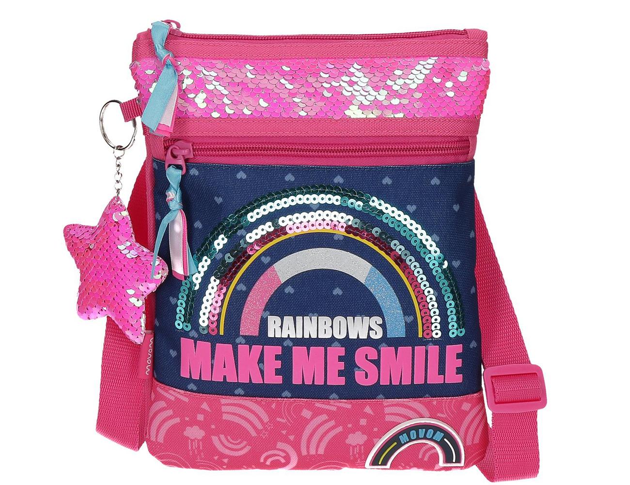 3045521 Bandolera Movom Glitter Rainbow