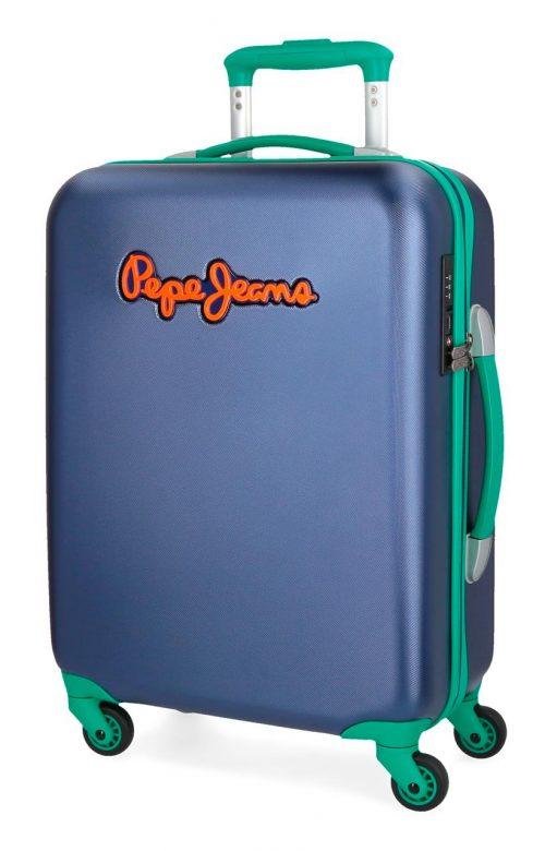 5399161 Maleta cabina Pepe Jeans Bristol Azul