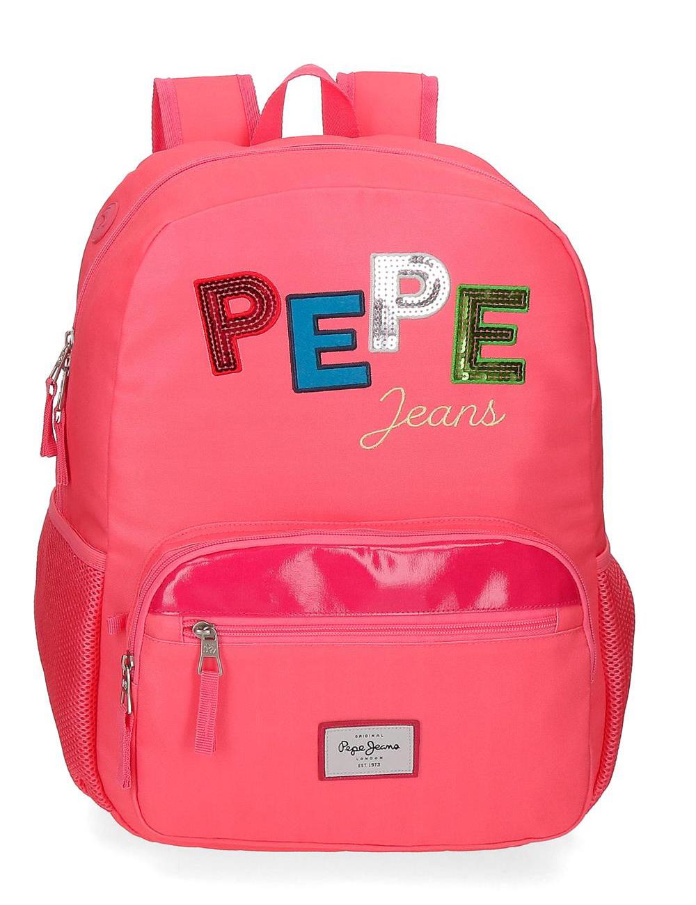 6212321 Mochila Porta Tablet 43 cm Pepe Jeans Kim Rosa