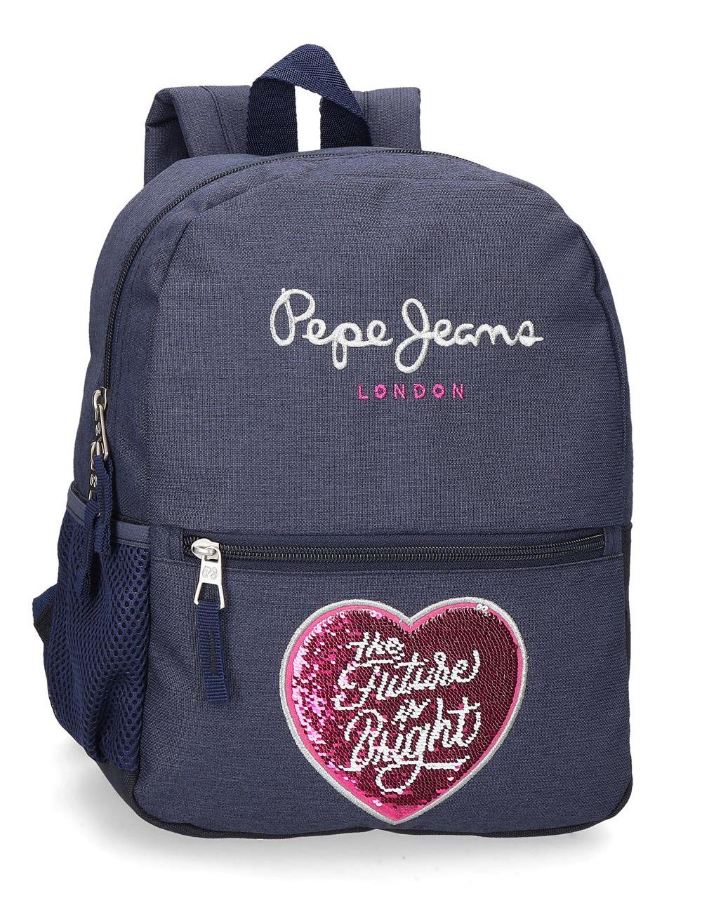 6232121 Mochila Paseo 30 cm Pepe Jeans Bright Marino