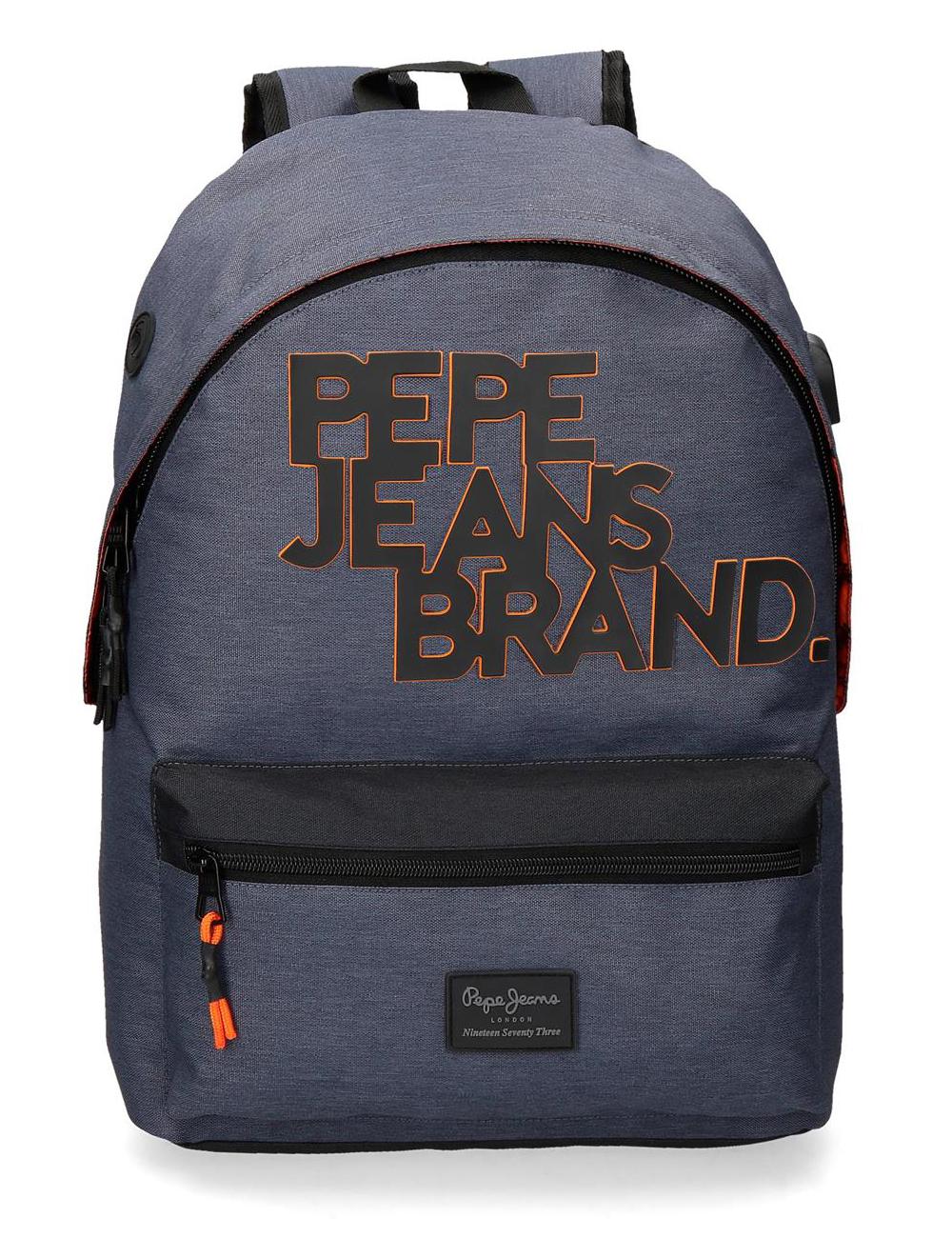 6282321 Mochila 42 cm Porta Tablet Pepe Jeans Troy