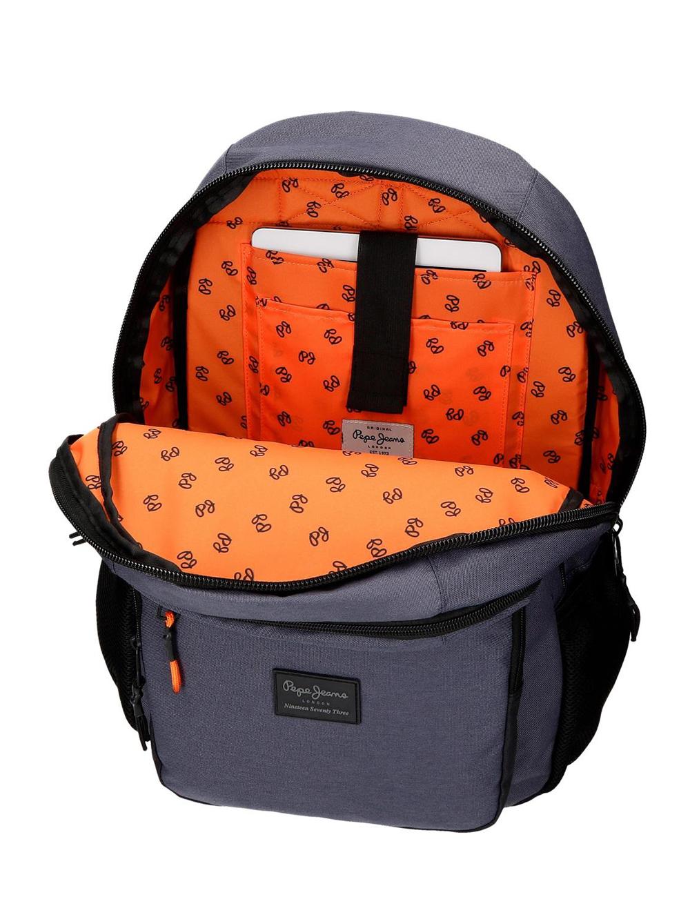 6282421 Mochila 46 cm Porta Tablet Doble C. Pepe Jeans Troy