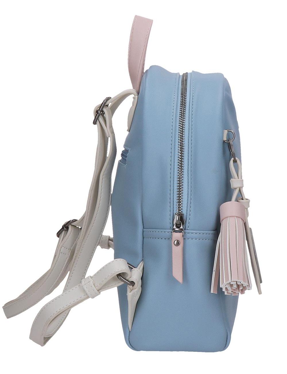 7582122 Mochila 28cm Pepe Jeans Zaida Azul