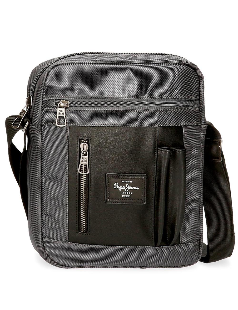 7645621 Bandolera 27cm Porta Tablet Pepe jeans Bomber Gris