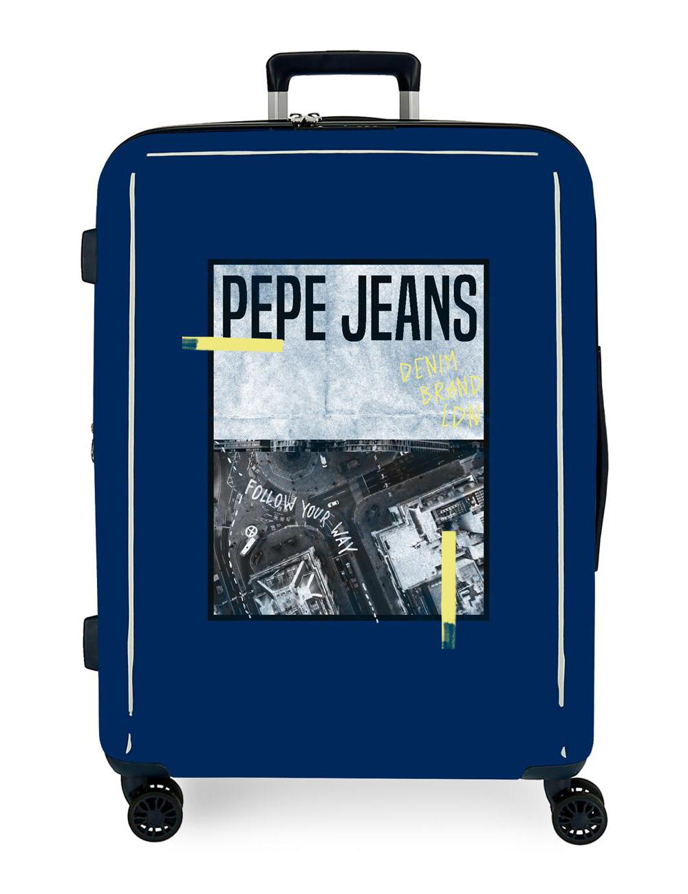 7929328 Maleta Cabina Pepe Jeans Nolan Crispin Denim