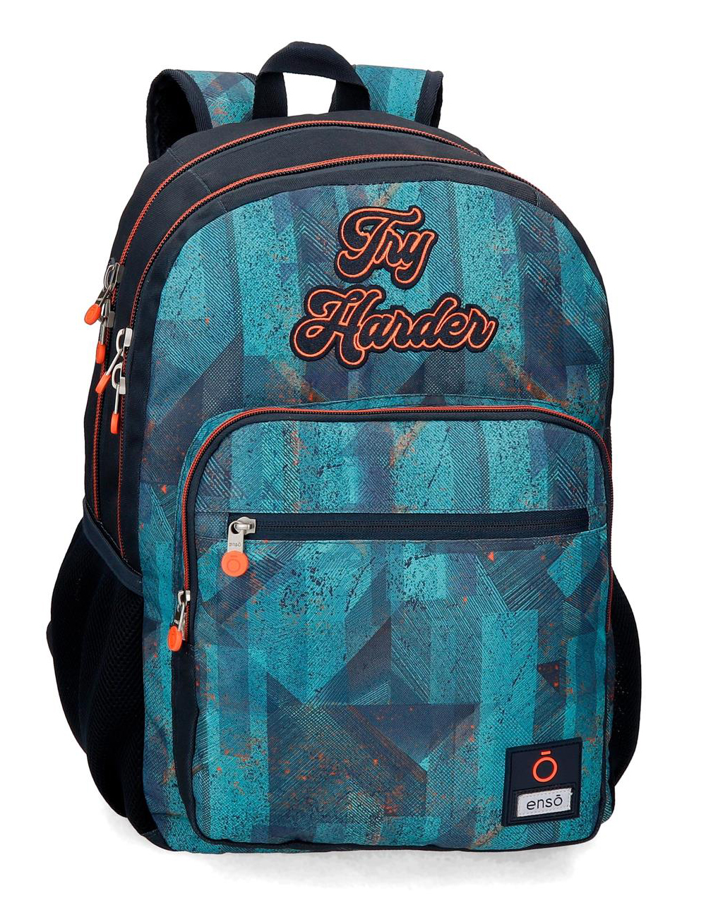 9082421 Mochila Grande 46 cm Doble Compartimento Enso Try Harder