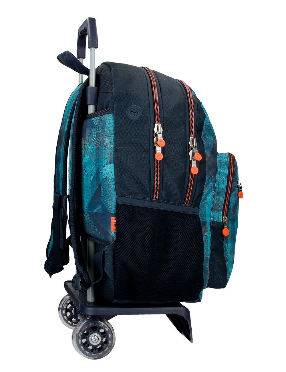 90824T1 Mochila Grande 46 cm Doble Compartimento con Ruedas Enso Try Harder