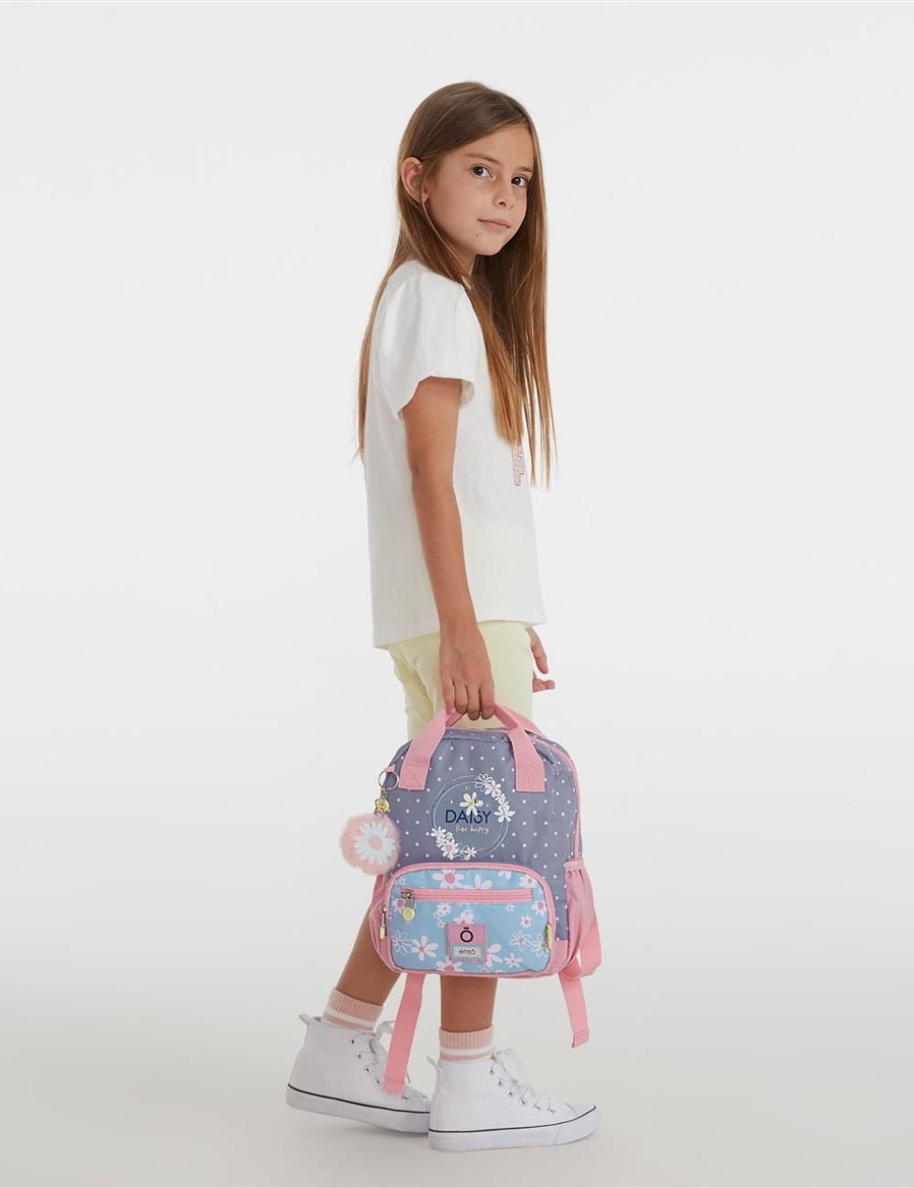 Mochila Pequeña 28cm Enso Daisy Azul 9252021